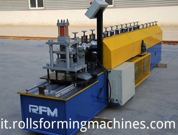 Steel Metal Roller Door Machines Color Steel Garage Door Machinery